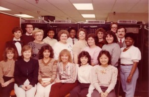 The Help Desk / MSI / Network Services Team in 1984 or 1985?